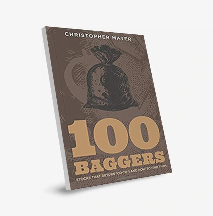 portada del libro 100 baggers, un estudio de empresas aptas para la estrategia del coffee can investing