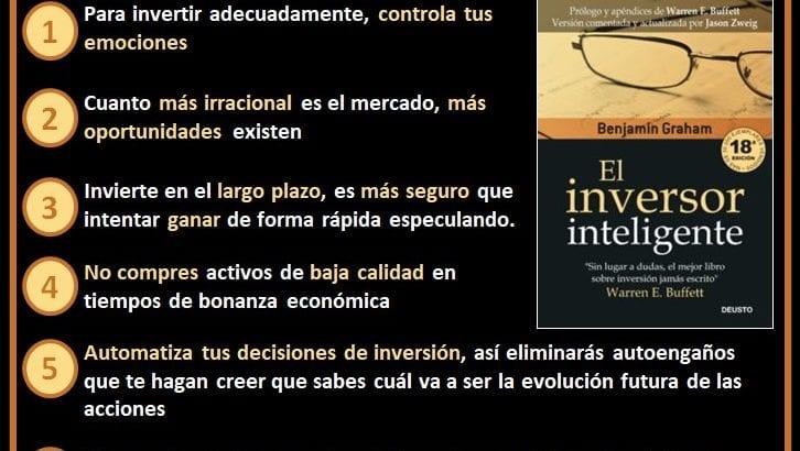 Resumen ideas principales El Inversor Inteligente Benjamin Graham