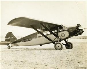 Avioneta de Stanley Black and Decker (SWK) en 1929