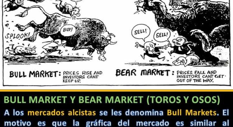Definición Bull Market y Bear Market toros y osos