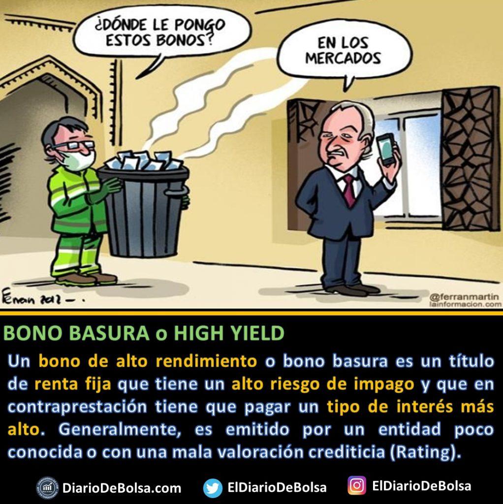 Basura mercados bonos