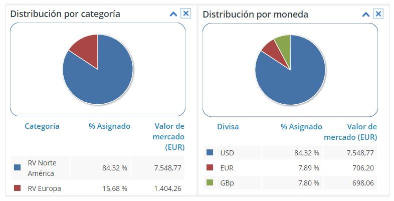 Riesgos de la cartera de aristócratas del dividendo de diariodebolsa.com en el reto gestión activa vs gestión pasiva