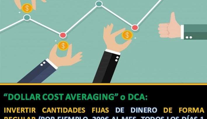 Definición DCA o Dollar Cost Averaging
