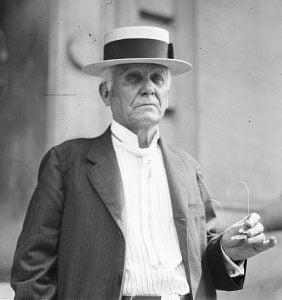 Foto de Asa Candler, comprador de la fórmula de coca Cola en 1888