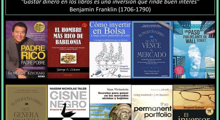 portadas 10 libros para aprender a invertir