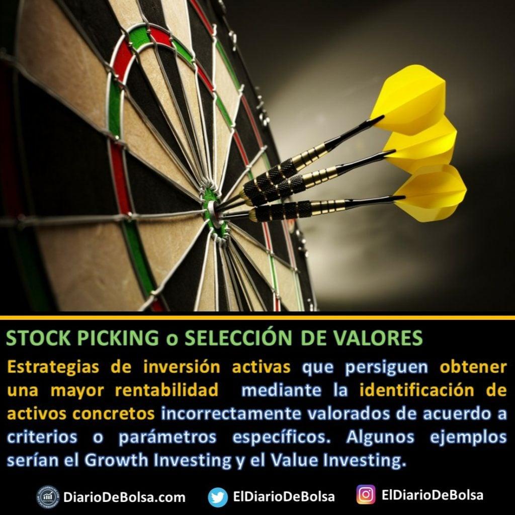 ¿Qué es el stock picking? gestión activa vs gestión pasiva o indexada
