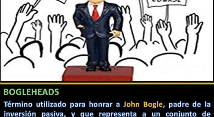 Minuatura Jack Bogle definición Bogleheads