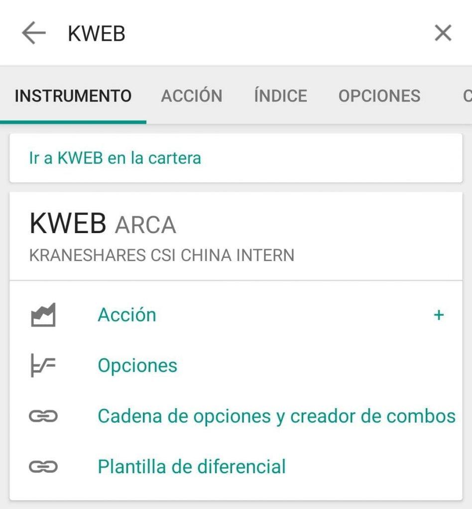Invertir en China con el ETF KWEB a través de Interactive Brokers