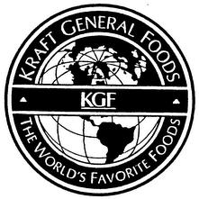 Logo de Kraft foods general, tras la compra de Philip Morris (PM) actual Altria (MO)