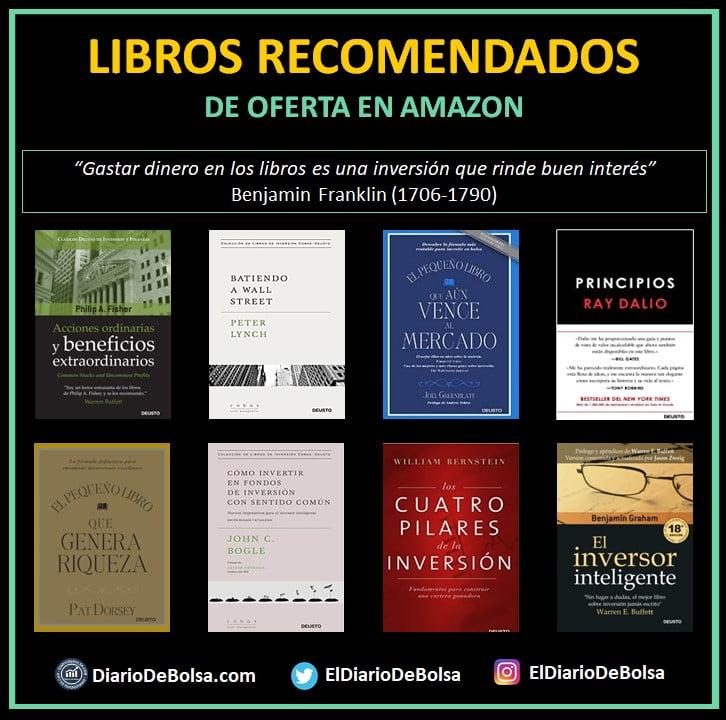 8 Portadas libros recomendados bolsa e inversión