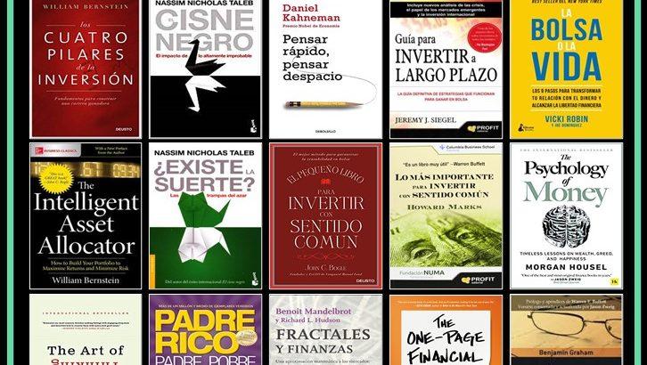 portadas 15 libros recomendados para aprender a invertir