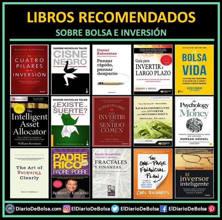 ¿Cuáles son los mejores libros de bolsa e inversión? Libros recomendados para aprender a invertir.