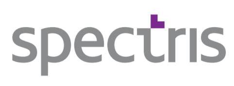 Logo de la aristócrata del dividendo británica Spectris PLC