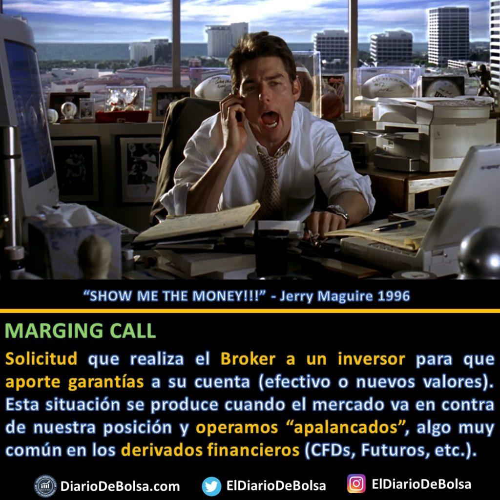 Jerry Maguire teléfono Margin call