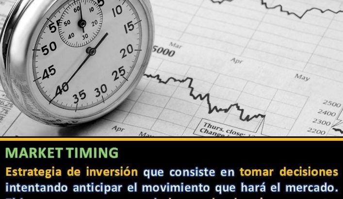 Definición Market Timing