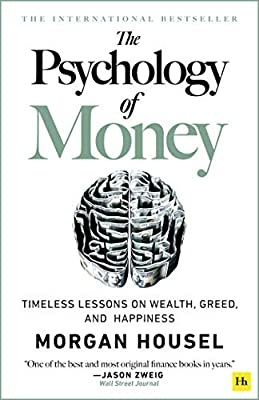 Portada del libro recomendado sobre bolsa e Inversión: The Psychology of Money: Timeless Lessons on Wealth, Greed, and Happiness de Morgan Housel