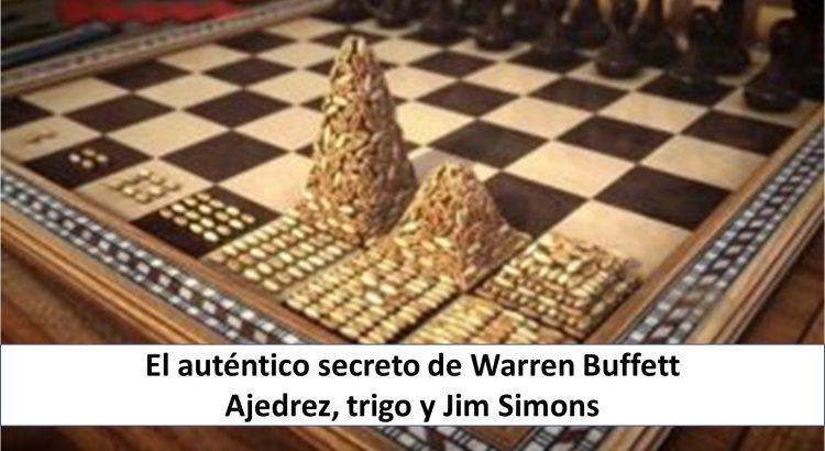 Portada con Ajedrez y Trigo - El secreto de Warren Buffett