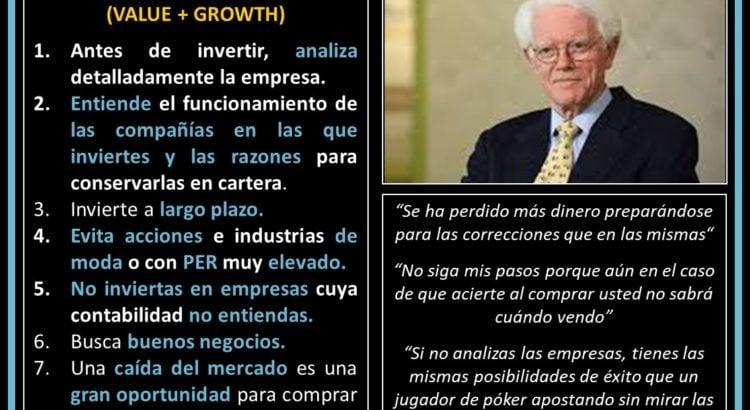 Principios de inversión, ideas principales y grandes frases de Peter Lynch