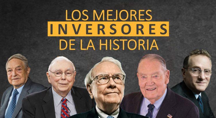 Mejores inversores de la historia Buffett Bogle Howard Marks Lynch