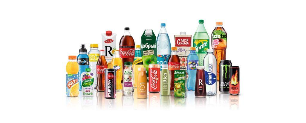 Imagen de los Productos de Coca-Cola Company