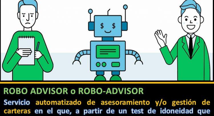 definición Robo Advisor vs Financial advisor