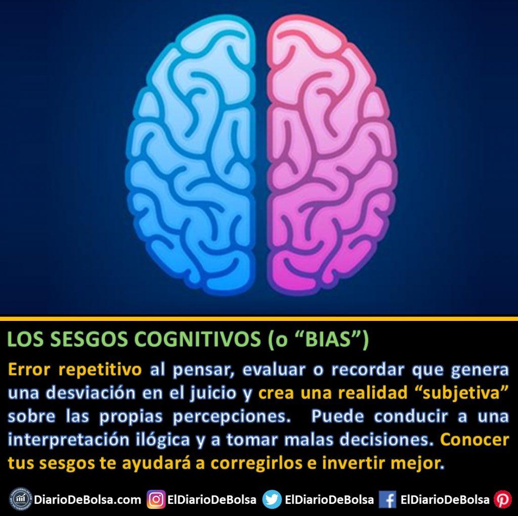 Qué son los sesgos cognitivos o BIAS y por qué es importante evitarlos con la ayuda de fondos indexados