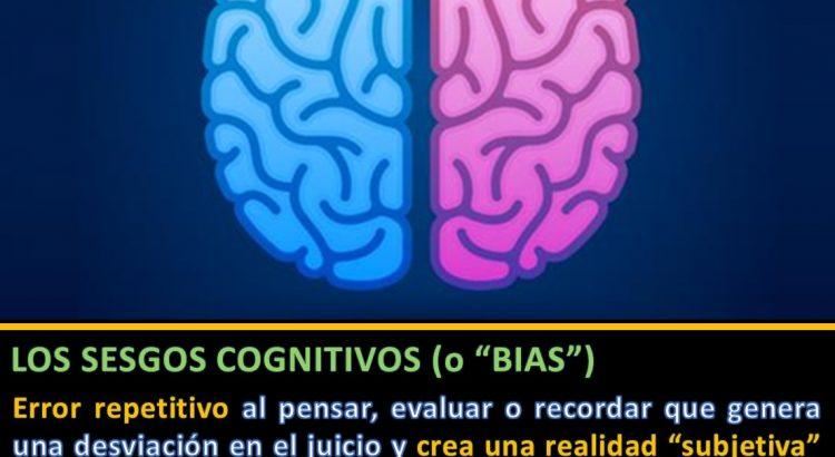 Definición sesgos cognitivos