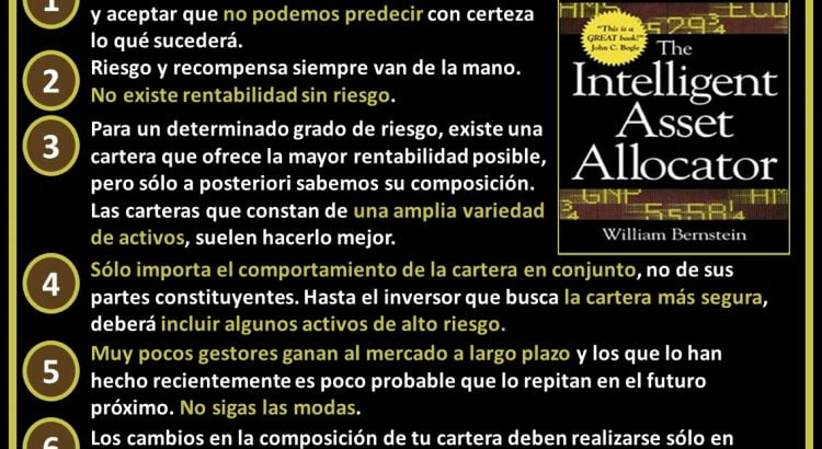 Resumen con las 7 ideas principales de The Intelligent Asset Allocator de William Bernstein
