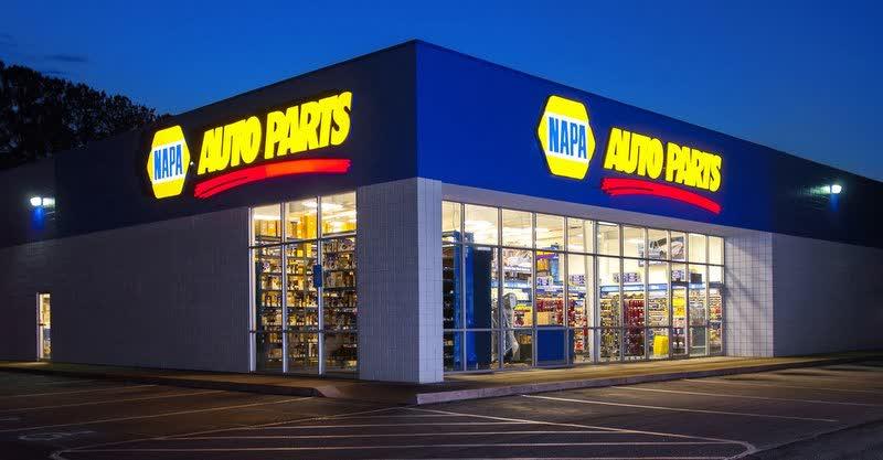 Foto de una tienda de NAPA Auto Parts