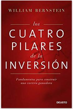 """Portada del libro recomendado para aprender a invertir en bolsa: """"Los Cuatro Pilares de la inversión"""" de William J. Bernstein"""