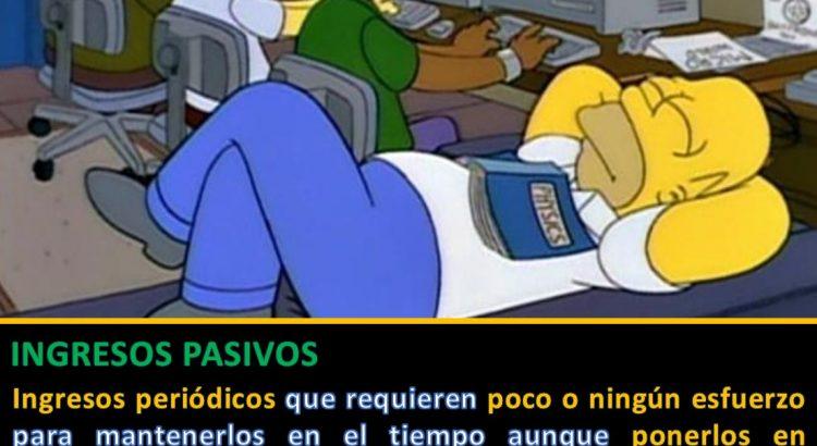Homer siesta frikis - Ingresos pasivos