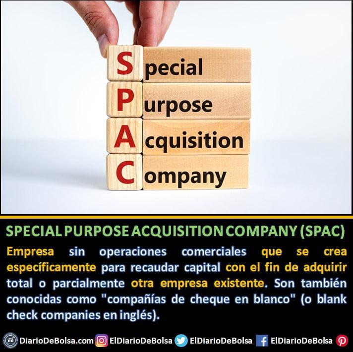 Qué es una SPAC o empresa de cheque en blanco